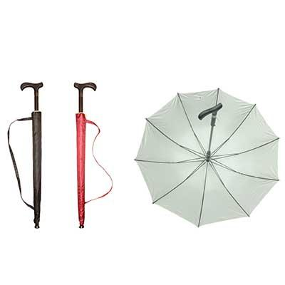 "23"" Walking Stick Umbrella with UV Protection 