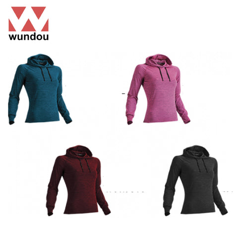 Wundou P760 Women's Long Sleeve Fitness Hoodie | Executive Corporate Gifts Singapore