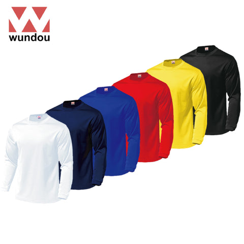 Wundou P350 Quickdry Long Sleeve T-Shirt | Executive Corporate Gifts Singapore