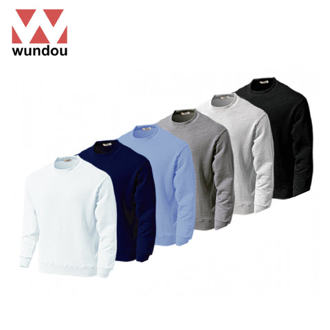 Wundou P601 Super Heavy Cotton Pullover Sweatshirt | Executive Corporate Gifts Singapore