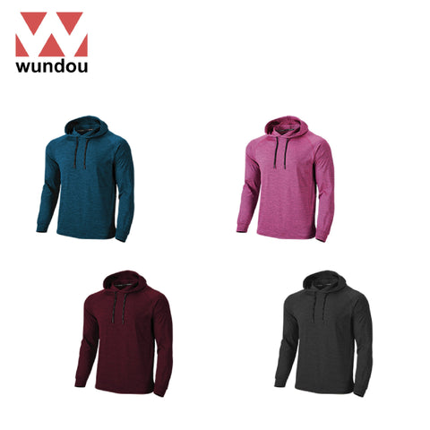 Wundou P750 Long Sleeve Fitness Hoodie | Executive Corporate Gifts Singapore