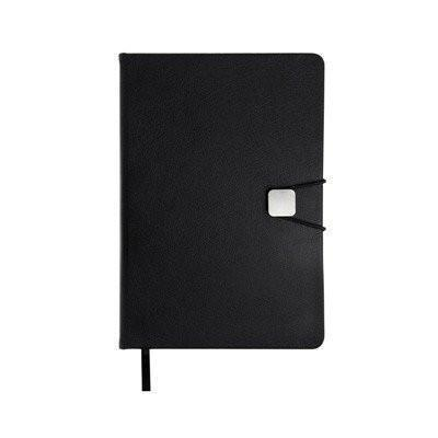 A5 Hard Cover Notebook with Elastic Closure - abrandz
