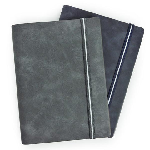 A5 Hardcover Wire O Insert Notebook - abrandz