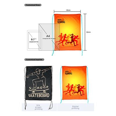Custom Promotional Drawstring Backpack | Executive Corporate Gifts Singapore