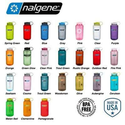 Nalgene 32oz BPA Free Wide Mouth Water Bottle (1,000ml) | Executive Door Gifts