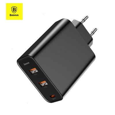 Baseus 3 Ports USB Charger | Executive Corporate Gifts Singapore