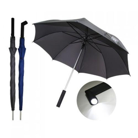Auto Open Torch Light Umbrella | Executive Corporate Gifts Singapore