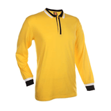 Basic Jersey Contrasting Long Sleeve Polo T-shirt | Executive Corporate Gifts Singapore