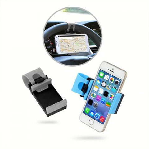 Car Steering Wheel Phone Holder - abrandz