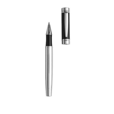 CERRUTI 1881 Zoom Black Rollerball Pen | Executive Corporate Gifts Singapore