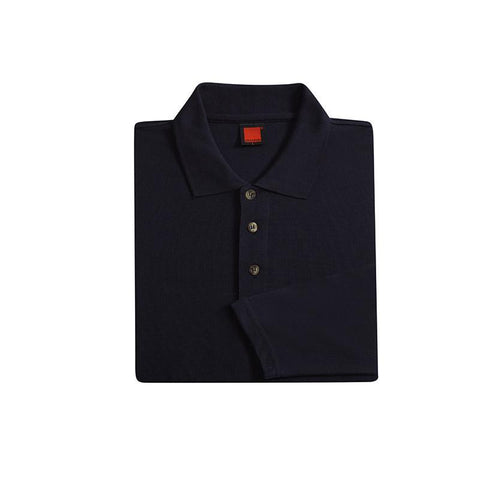 Classic Honeycomb Long Sleeve Polo T-shirt | Executive Corporate Gifts Singapore