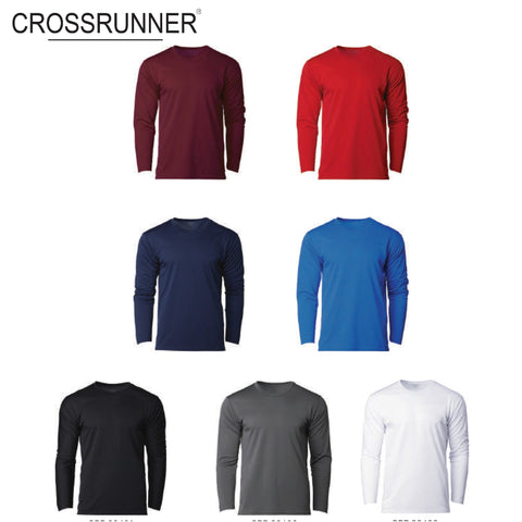 Crossrunner 36400 Round Neck Long Sleeve T-Shirt | Executive Corporate Gifts Singapore