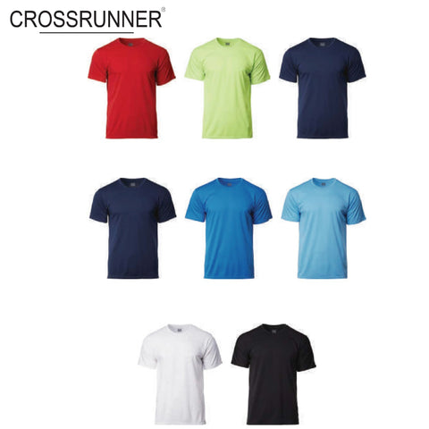 Crossrunner 3900 Dry Pique Round Neck T-Shirt | Executive Corporate Gifts Singapore