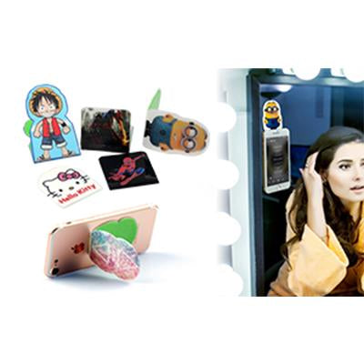 Custom Magic Sticker Mobile Phone Holder | Executive Corporate Gifts Singapore