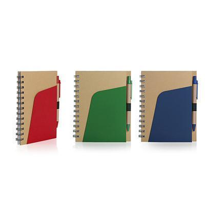 Eco Friendly Notebook with Pen - abrandz