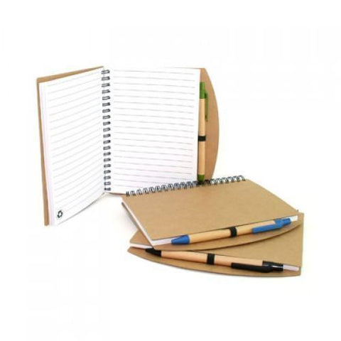Eco-Friendly Notebook with Pen - abrandz