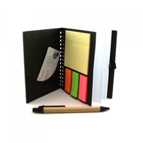 Eco Friendly Notebook With Pen | Executive Corporate Gifts Singapore