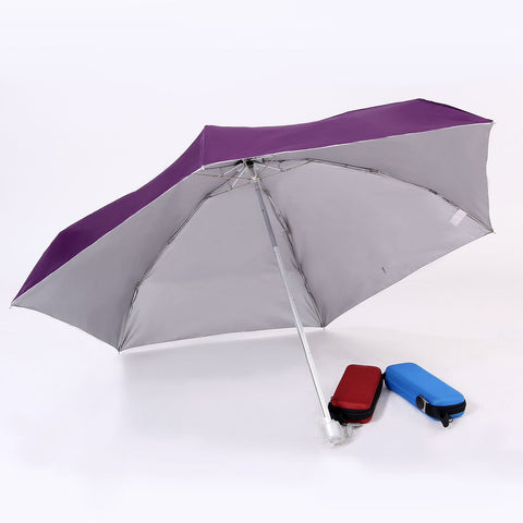 21'' Foldable Umbrella with EVA casing | Executive Corporate Gifts Singapore