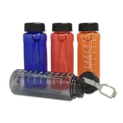 1 Litre Wide Mouth Water Bottle with Carabiner | Executive Door Gifts