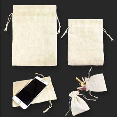 Jute Drawstring Pouch | Executive Corporate Gifts Singapore