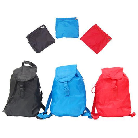 Foldable Nylon Backpack | Executive Door Gifts