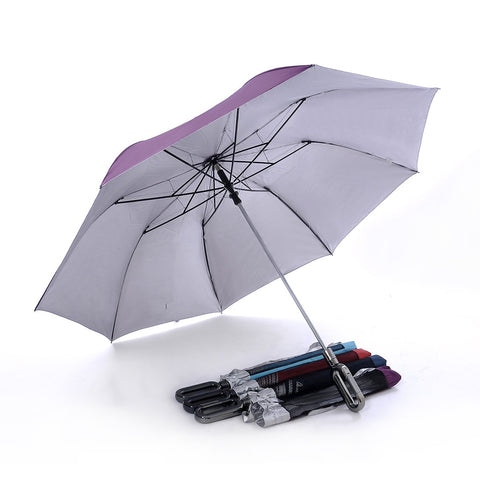 28'' Golf Umbrella with Caribbean Hook Handle | Executive Corporate Gifts Singapore