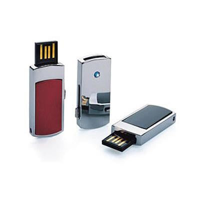 Mini Slide Out Metallic USB Flash Drive | Executive Door Gifts