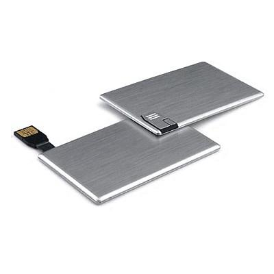 Aluminium Card USB Flash Drive | Executive Corporate Gifts Singapore