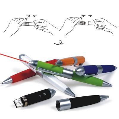 Pen USB Flash Drive with Laser Pointer | Executive Corporate Gifts Singapore