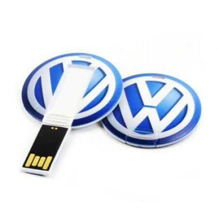 Round Shape Flip USB Flash Drive | Executive Corporate Gifts Singapore