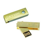 Gold Swivel USB Flash Drive | Executive Corporate Gifts Singapore