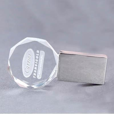 Diamond Crystal USB Drive with LED Light | Executive Corporate Gifts Singapore