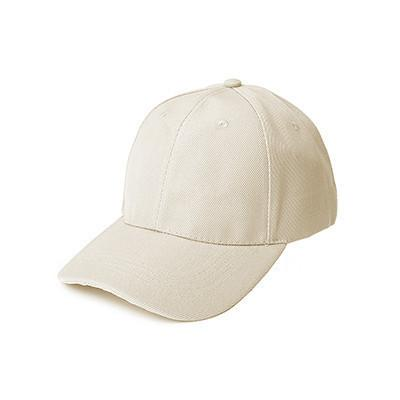 Khaki Cotton Brushed Cap - abrandz