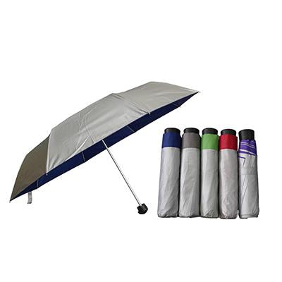 Silver Coated Lightweight Foldable Umbrella | Executive Corporate Gifts Singapore