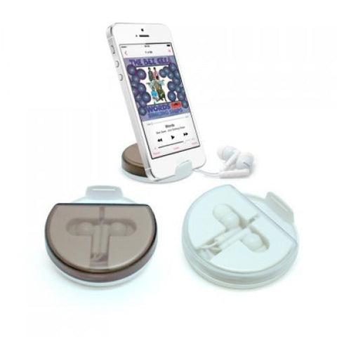 Mobile Phone Holder With Earphone - abrandz
