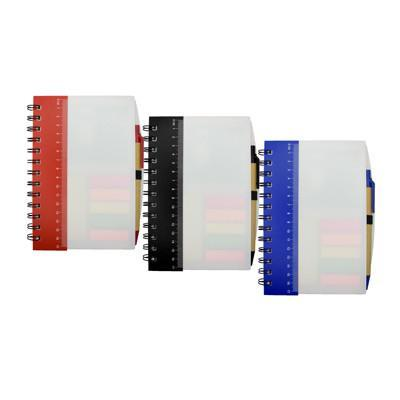 Notebook with Pen and Sticky Notes - abrandz
