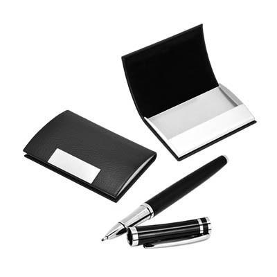 Pen & Name Card Holder Set | Executive Corporate Gifts Singapore