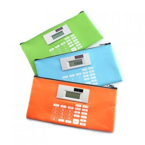 PU Stationery Case With Calculator | Executive Corporate Gifts Singapore