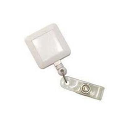 Pull Reel | Opaque White Square | Executive Corporate Gifts Singapore