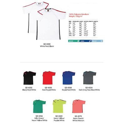 Quick Dry Sports Round Neck T-shirt | Executive Corporate Gifts Singapore