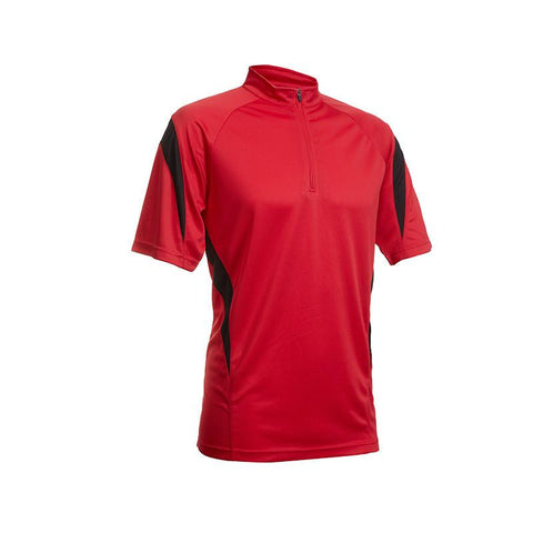 Quick Dry Mandarin Collar T-shirt with Stripes | Executive Corporate Gifts Singapore