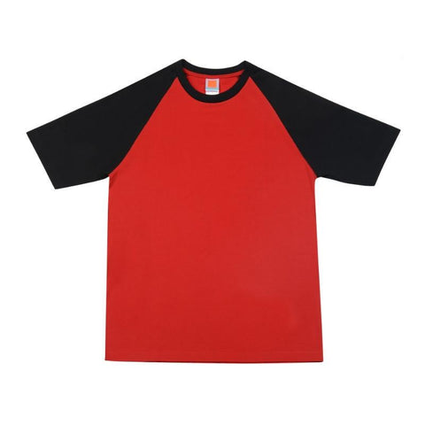 Raglan Short Sleeve Round Neck T-shirt | Executive Corporate Gifts Singapore