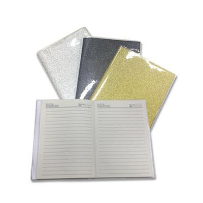 Shimmering NoteBook With Pvc Cover | Executive Corporate Gifts Singapore
