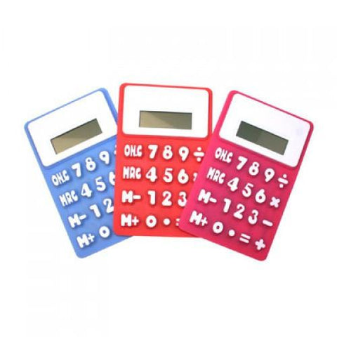 Silicon Calculator | Executive Door Gifts