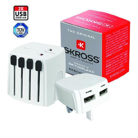SKROSS World Travel Adapter MUV Micro USB | Executive Corporate Gifts Singapore