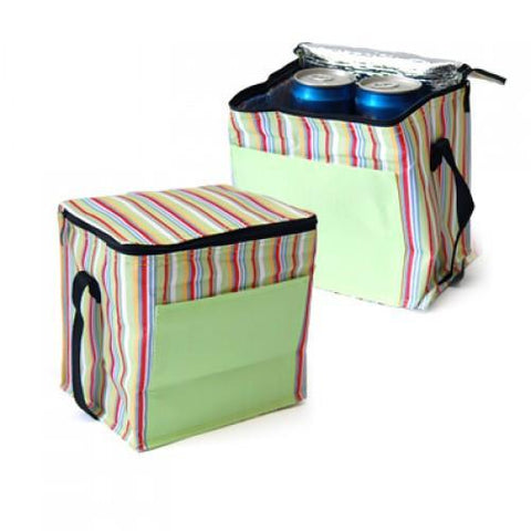 Striped Insulated Cooler Bag | Executive Corporate Gifts Singapore