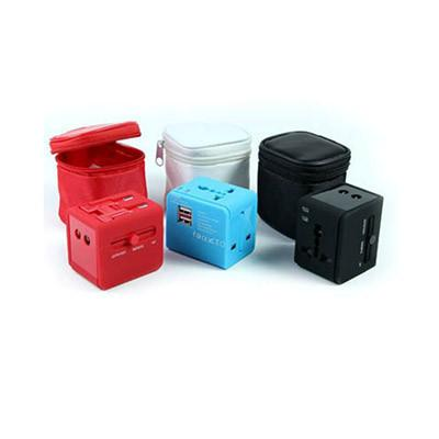 Travel Adaptor  with  2 USB Port | Executive Corporate Gifts Singapore