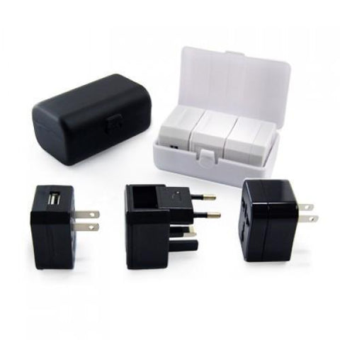 Travel Adaptor With USB Hub And box | Executive Corporate Gifts Singapore