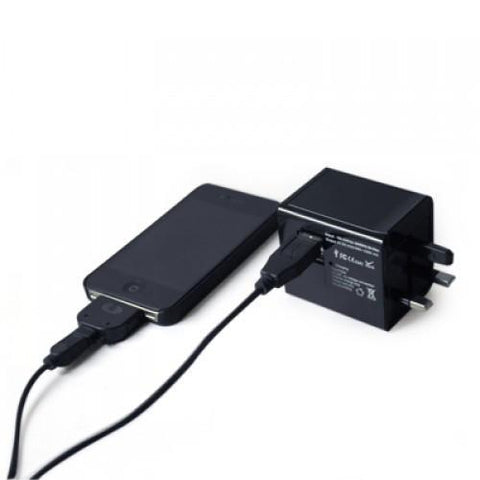 Universal AC USB Charger with Power Bank | Executive Corporate Gifts Singapore