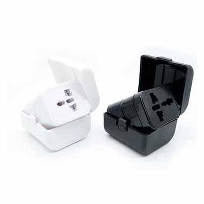 Universal Travel Adapter With Box | Executive Corporate Gifts Singapore